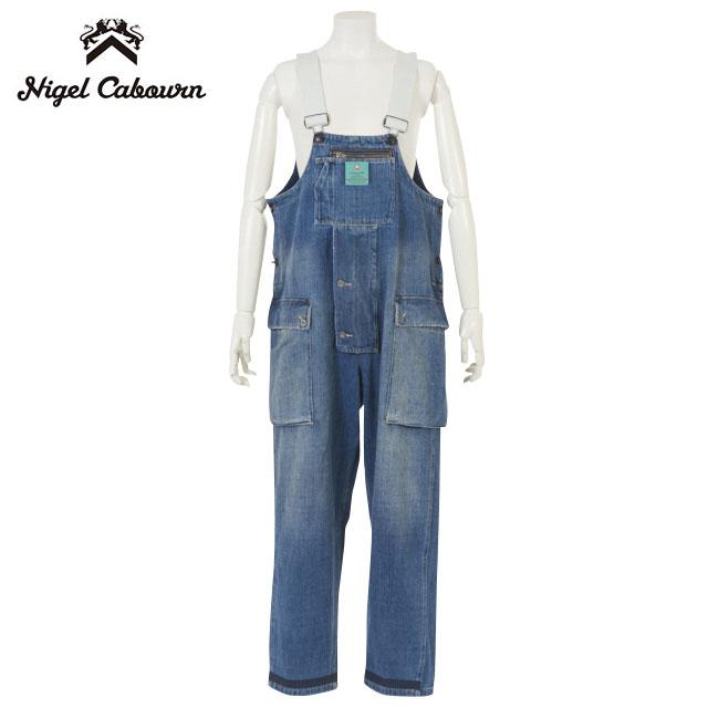 メンズファッション, オーバーオール NIGEL CABOURN LYBRONAVAL DUNGAREE KUROKI DENIMheavy wash