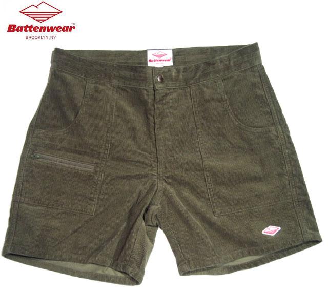 メンズファッション, ズボン・パンツ 30OFFBATTEN WEARCORDUROY LOCAL SHORTSolive