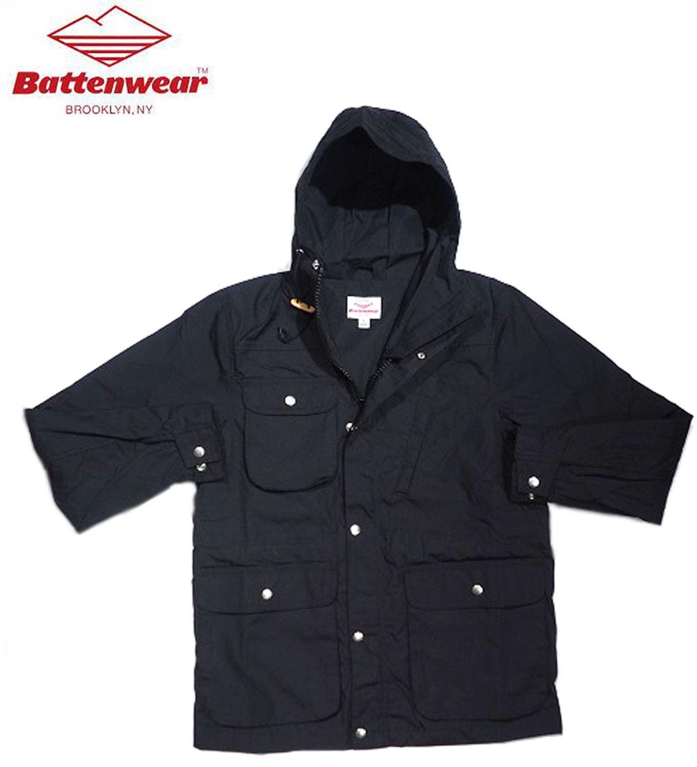 メンズファッション, コート・ジャケット 30OFFBATTEN WEAR 6040 CLOTH TRAVEL SHELL PARKAblack