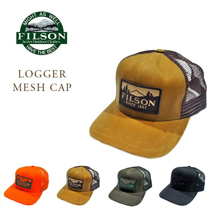 メンズ帽子, キャップ FILSON 30237 LOGGER MESH CAP