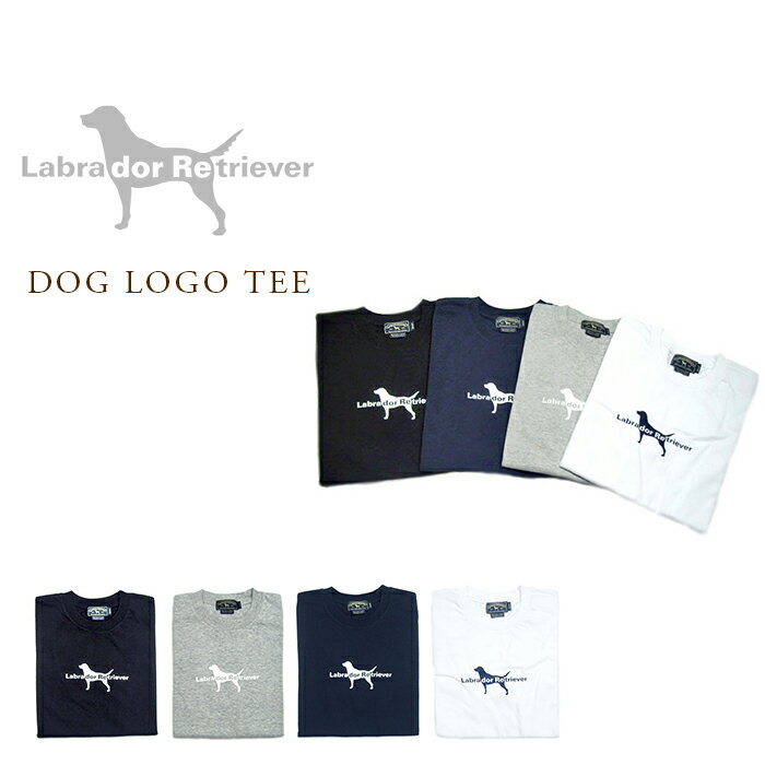 Labrador Retriever(ラブラドール・リトリーバー)/DOG LOGO TEE(犬ロゴTEE)