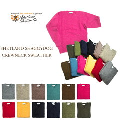 Shetland Woollen Co. Crewneck Shaggy Dog Sweater