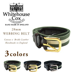 Whitehouse Cox Webbing Belt B2323