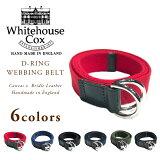 WHITEHOUSE COX(ホワイトハウスコックス)/#B-2365 D-RING WEBBING BELT