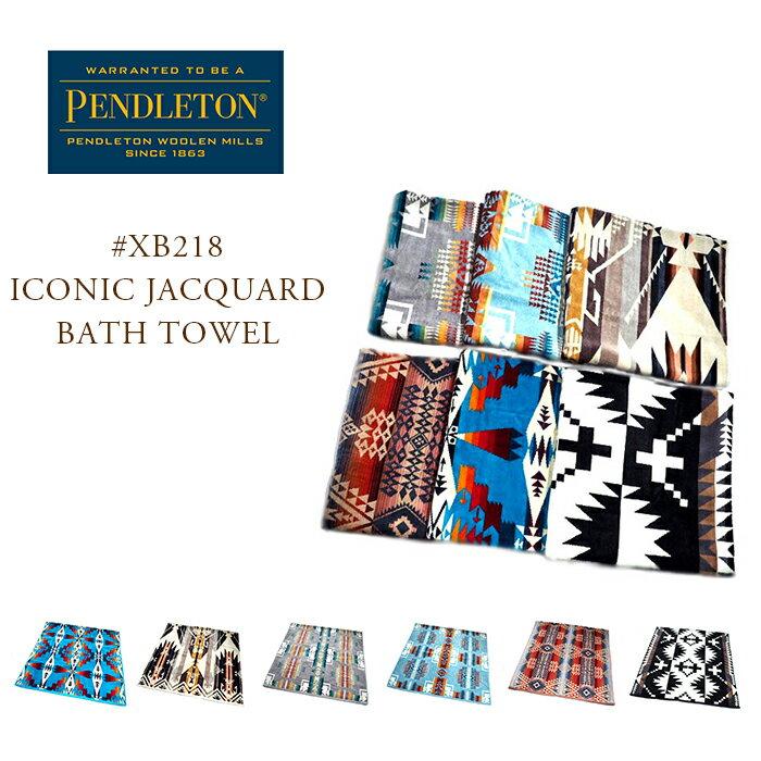 PENDLETON(ペンドルトン)/#XB218 Iconic Jacquard Bath Towel(ジャカードバスタオル)