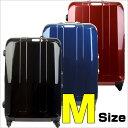 [送料無料](5~1週間)新作TSAロック搭載・100%ポリカーボネイト・超軽量中型スーツケース・キ...