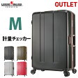 スーツケース キャリーケース キャリーバッグ 旅行用品 M サイズ 軽量 アウトレット 計量機能付き ...