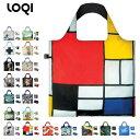LOQI エコバッグ 収納ポーチ付き ローキー バッグ bag 買い物 ショッピング セレブ ブランド トートバッグ 折りたたみ エコ かわいい 軽い LOQI-BAG-3 Museum Collection