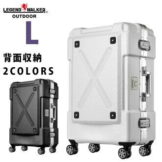 手提箱 L  超便攜 PC 100% 鋁框大型 炫酷 拉桿箱  7-9天 免費托運158cm尺寸 戶外型 6302-69