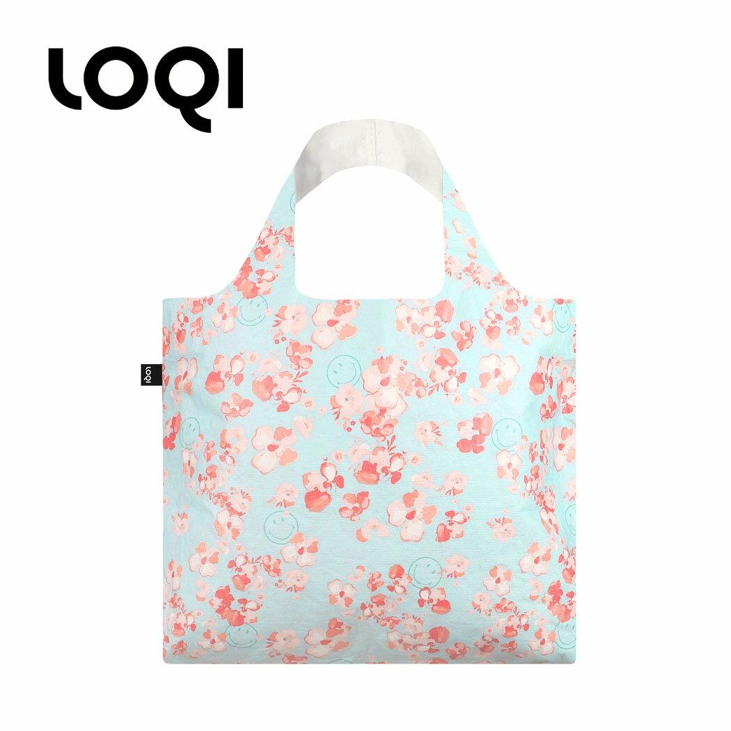 バッグ, エコバッグ  LOQI SMILEY loqi-bag-tyvek