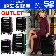 スーツケース キャリー キャリーバッグ フレーム アウトレット ポリカーボネート