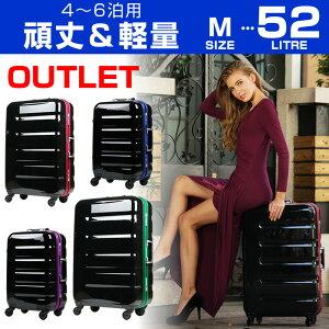 ポイント スーツケース キャリー キャリーバッグ フレーム アウトレット ポリカーボネート