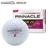 新品未使用 ピナクル ゴールド ピンクリボン オーバーランボール 12球1ダース 箱なしアウトレット Gold PINNACLE