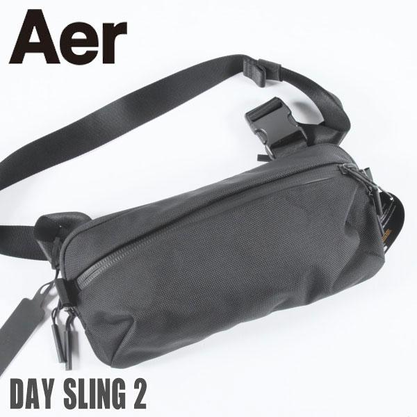 男女兼用バッグ, ボディバッグ・ウエストポーチ Aer Day Sling 2 AER21009 Black 21009