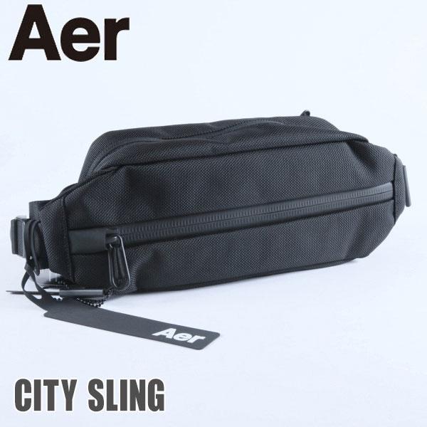 メンズバッグ, 2way・3wayバッグ Aer CITY SLING AER11010 Black