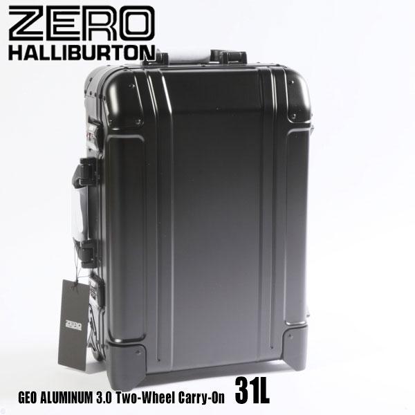 バッグ, スーツケース・キャリーバッグ  3.0 Two-Wheel Carry-On 31L ZRG2520 Black 94253 GEO ALUMINUM 3.0 ZERO HALLIBURTON