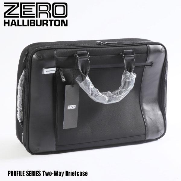 メンズバッグ, ビジネスバッグ・ブリーフケース  Two-Way Briefcase PRF307 Black 80857 PROFILE SERIES ZERO HALLIBURTON