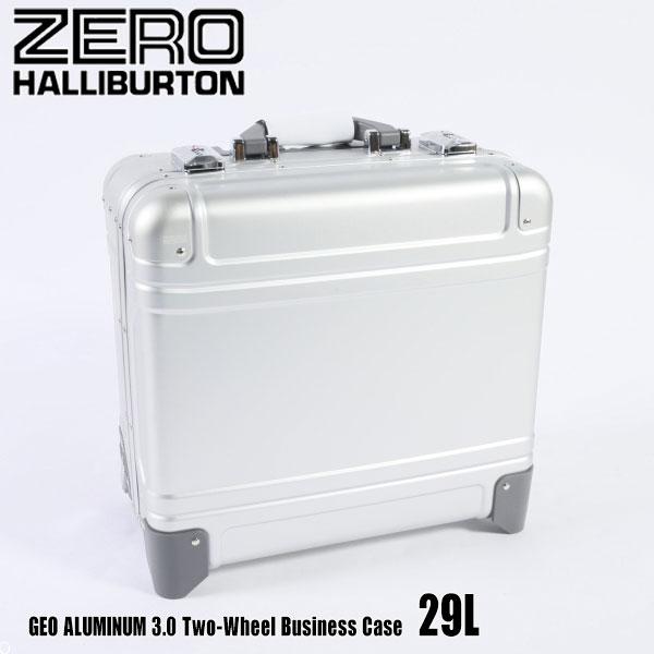 バッグ, スーツケース・キャリーバッグ  3.0 Two-Wheel Business Case 29L ZRG2517 Silver 94264 GEO ALUMINUM 3.0 ZERO HALLIBURTON
