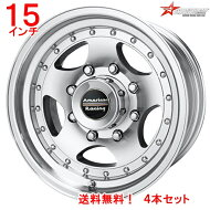 アメリカンレーシングAR2315x8Jオフセット-19mmマシンドフィニッシュ4本セット