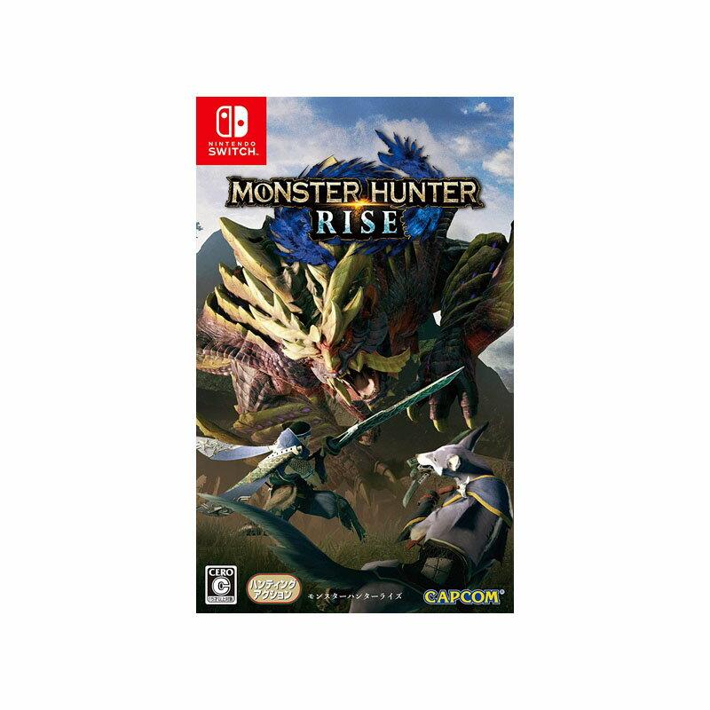 Nintendo Switch, ソフト  MONSTER HUNTER RISE Switch CERO C(15)