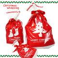 クリスマスギフト用ラッピング袋