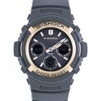 カシオCASIOG−SHOCKAWG−M100A−3AJFソーラー電波時計ラバーRb2012年式未使用展示品【トレジャースポット】【】