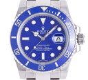 ロレックス ROLEX サブマリーナデイト 116619LB ホワイトゴールド WG ブルー メンズ ...