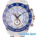 ROLEXヨットマスター2116681SS/PGAT自動巻きメンズ腕時計送料無料【トレジャースポット】【中古】