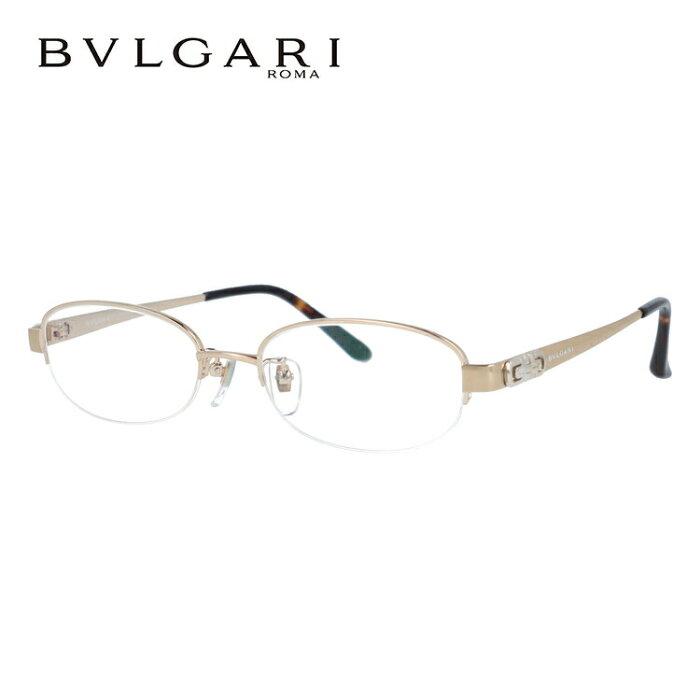 ブルガリ メガネフレーム おしゃれ老眼鏡 PC眼鏡 スマホめがね 伊達メガネ リーディンググラス 眼精疲労 BVLGARI 眼鏡 BV2077TK 4016 51サイズ ゴールドラメ/ハバナ メンズ レディース ダテメガネ 紫外線対策【日本製】