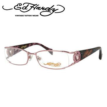 【訳あり】エドハーディー メガネフレーム おしゃれ老眼鏡 PC眼鏡 スマホめがね 伊達メガネ リーディンググラス 眼精疲労 EdHardy 眼鏡 EHOA011 3 ROSE ローズ メンズ レディース ダテメガネ 紫外線対策