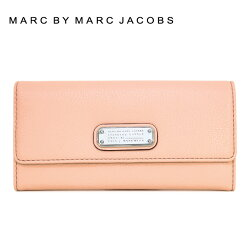 MARCBYMARCJACOBSマークバイマークジェイコブスM0005348TropicalPeachピンク系NewQLongTrifoldColor838