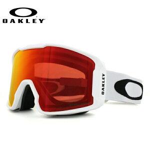 【メガネ対応】2018-2019新作 オークリー ゴーグル スノーゴーグル LINE MINER XM OAKELY ラインマイナーXM OO7094-04 アジアンフィット ミラーレンズ PRIZM 眼鏡対応 メンズ レディース 男女兼用 スキー