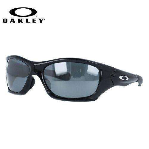 オークリー サングラス OAKLEY PIT BULL ピットブル OO9161-06 Polished Black / Black Iridium Po...