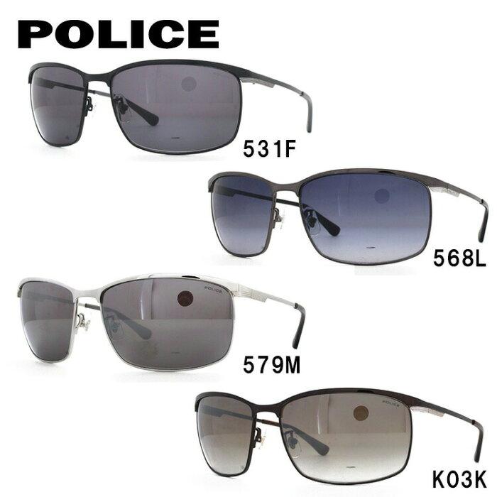 ポリス サングラス ブラックバード アジアンフィット POLICE BLACKBIRD SPL750J 全4カラー 62サイズ 国内正規品 スクエア ユニセックス メンズ レディース ギフト