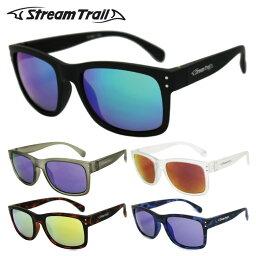 ストリームトレイル サングラス ミラーレンズ アジアンフィット Stream Trail ST3001 全5カラー 53サイズ ウェリントン ユニセックス メンズ レディース 【釣り/つり/フィッシング】 アウトドア ドライブ