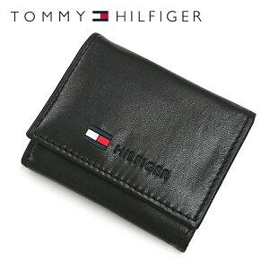 トミーヒルフィガー コインケース ブラック ウォレット シンプル ラッピング