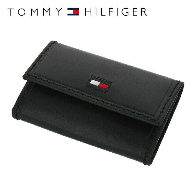 f12c2f61222b トミーヒルフィガー キーケース TOMMY HILFIGER 31TL17X012-001(0094-5243/01)