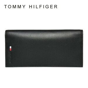トミーヒルフィガー ブラック ウォレット シンプル ラッピング
