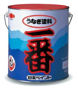 【日本ペイント】日本ペイント船底塗料うなぎ塗料一番2kg缶レッド(FRP船船底部防汚塗料/船底塗料)