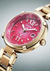 【シチズン】CITIZENソーラー電波腕時計レディースEC1062-53WTITANIAラインハッピーフライトクロスシーxC北川景子CM着用モデル