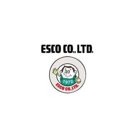 エスコ ESCO 160mm ダックビルプライヤー(磨キ) EA537LC-160