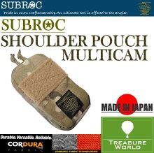 SUBROC(サブロック)ショルダーポーチマルチカム05P24Oct15