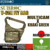 ●2017NEW●SUBROC(サブロック)V-ONEFITBAGMULTICAM×KHAKIGREEN