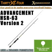 34THIRTYFOUR(�����ƥ��ե���)ADVANCEMENT(���ɥХ󥹥���)HSR-63Version2�ڥ����󥰥�åɡ�