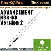 34THIRTYFOUR(�����ƥ��ե���)ADVANCEMENT(���ɥХ���)HSR-63Version2�ڥ�����åɡ�
