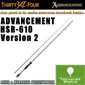 34THIRTYFOUR(�����ƥ��ե���)ADVANCEMENT(���ɥХ󥹥���)HSR-610Version2�ڥ����󥰥�åɡ�