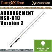 34THIRTYFOUR(サーティフォー)ADVANCEMENT(アドバンスメント)HSR-610Version2【アジングロッド】