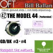 BillBallan(ビルバラン)THEMODEL44(Perforated)(モデル44パーフォレ—テッド)GD/BK#3・#4【フライリール】〔分類:フライフィッシング〕P08Apr16