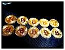 10枚セット ゴールド ビットコイン 仮想通貨 金運アップ