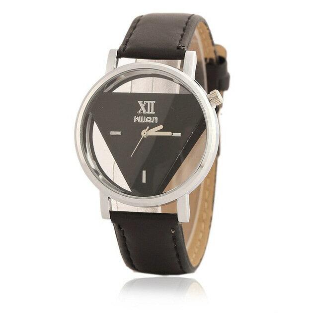■トライアングルクリアウォッチ■腕時計 時計 おしゃれ ウォッチ レディース メンズ